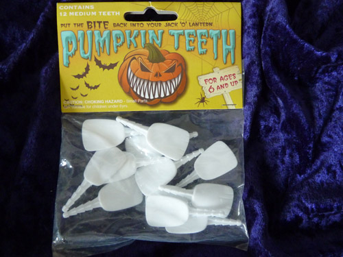 Buck Teeth Style Pumpkin Teeth